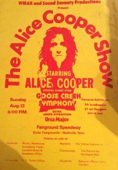 Alice Cooper 1972-08-13