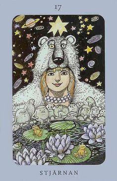 The Star - Jolanda Tarot (Swedish Witch Tarot)