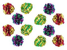 PETFAVORITES Original Mylar Crinkle Balls Cat Toys  12 Pack *** You can get more details by clicking on the image.