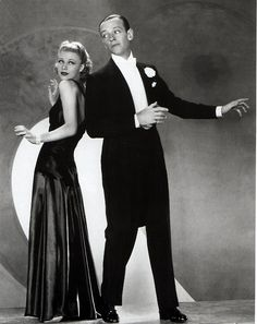 Ginger Rogers and Fred Astaire in Roberta, directed by William A. Seiter, 1935