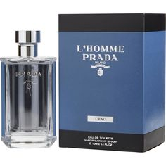 Buy Prada L'Homme L Eau Perfume For Men By Prada From Canada'S Online Perfume Store At Lowest Prices. All Products Are Authentic, Original Brand Names. We Do Not Sell Knock Off Or Imitations. Perfume Hermes, Perfume Versace, Prada, Perfume Store, Perfume Bottles, Giorgio Armani, Discount Perfume Online, Perfume Carolina Herrera, Fragrance