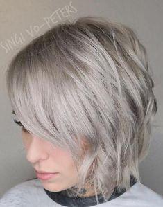 Corto de pelo largo Peinados para el año 2017 //  #2017 #año #corto #largo #para #Peinados #pelo