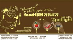 It's Cebu time to shine! Experience an amazing food adventure at the Foodish Food Festival at Cebu Business Park. Check this post for more details. Linear Park, Food To Go, Cebu, Food Festival, Spaces, Adventure, Business, Amazing, Portable Food