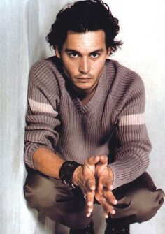 Obviously the amazingly talented and gorgeous, johnny Depp.