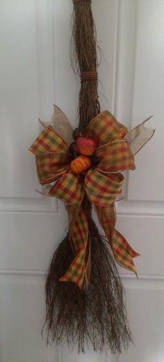 fall cinnamon broom