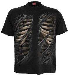Bone Rips men's t-shirt Spiral Direct