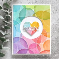 If you have a project made using items from any Rest and Refresh 2019 Simon Says Stamp exclusive designs, please … Penny Black, Simon Says Stamp Blog, Rainbow Card, Heart Cards, Scrapbooking, Scrapbook Cards, Card Making Inspiration, Ink Pads, Card Sketches