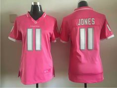 9270ce2ef26 Nike Falcons Julio Jones Pink Women's Stitched NFL Elite Bubble Gum Jersey  And Cowboys Dak Prescott 4 jersey