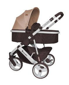9b69616883f1 Детская коляска-трансформер Lorelli Calibra 3, brown-beige Цена  305 BTN  Артикул