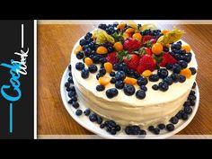 Ovocná torta s mascarpone krémom, veľmi chutná a rýchla Cheesecake, Low Carb, Birthday Cake, Cupcakes, Youtube, Food, Mascarpone, Cupcake Cakes, Cheesecakes