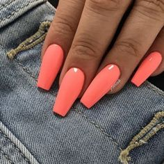 Are you looking for summer nails colors designs that are excellent for this summer? See our collection full of cute summer nails colors ideas and get inspired! nails 61 Summer Nail Color Ideas For Exceptional Look 2019 Bright Summer Nails, Cute Summer Nails, Colorful Nails, Colorful Nail Designs, Cute Nails, Summer Holiday Nails, Summer Nail Colors, Spring Nails, Nail Summer