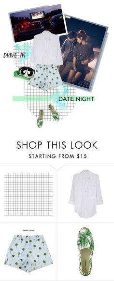 """""""Kiss me under the light of a thousand stars"""" by closertocris ❤ liked on Polyvore featuring Free People, Lucy Paris and Moschino"""