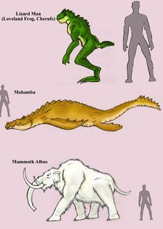 Cryptids L - M by ~Cybopath on deviantART