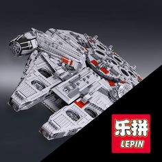 >> Click to Buy << LEPIN 05033 Star 5265Pcs Wars Ultimate Millennium Collector's Falcon Model Building Kit Blocks Bricks DIY Toy Compatible 10179 #Affiliate