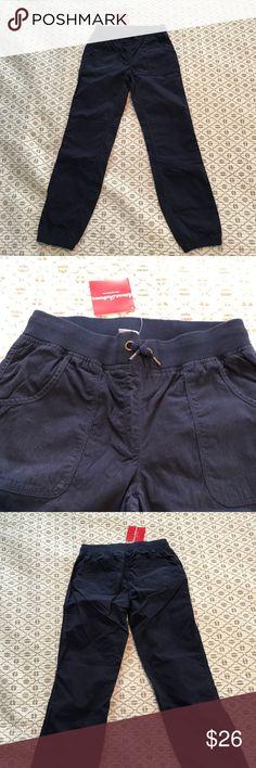 Hanna Andersson Navy Pants - Size 150 Hanna Andersson Navy Pants - Size 150 - NWT Hanna Andersson Bottoms Casual