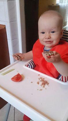 """""""Pasta z pomidorem, selerem naciowym i awokado"""" - Przepisy BLW Plastic Cutting Board"""