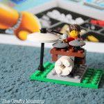 Balloon Powered Lego Car - The Crafty Mummy