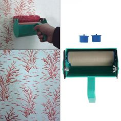 Single Color Decoration Paint Painting Machine For 7 Inch Wall Roller Brush Tool, Free shipping option to most countries worldwide, secured payment and money back guarantee. 10% discount for loyal customers. For best shopping experience visit us, trainedtools.com Room Wall Decor, Diy Wall Decor, Wall Patterns, Painting Patterns, Hot Tools, Love Your Home, Diy Supplies, Machine Tools, Painting Tools