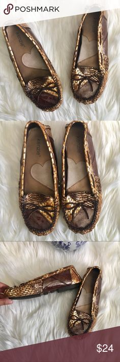 New Kenzie Devia Patchwork Leather Loafer New Kenzie Devia Patchwork Leather Loafer. Stitched leather and sequin patchwork in the classic driving Loafer style. Never worn and new condition.   No trades kenzie Shoes Flats & Loafers