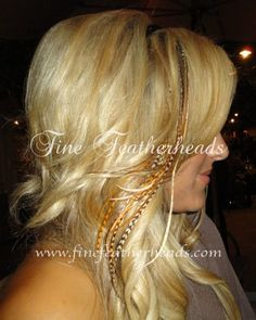 feather hair extensions!