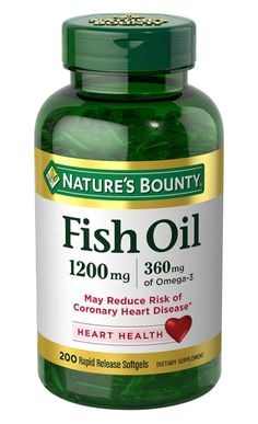 Nature's Bounty® Fish Oil 1400 mg contains EPA and DHA, two fatty acids that help support and maintain the health of your cardiovascular system.* View Nature's Bounty Fish Oil - mg Coated Softgels) Omega 3, Calendula Benefits, Coconut Health Benefits, Top 5, Fish Oil, 3 Fish, High Cholesterol, Good Fats, Nutritional Supplements