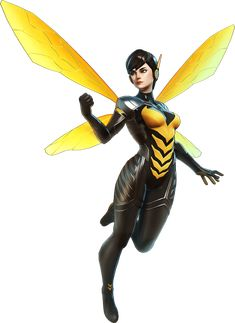 marvel ultimate alliance 3 Wasp by on DeviantArt Marvel Comics Art, Marvel Comic Universe, Comics Universe, Marvel Heroes, Marvel Cinematic Universe, Captain Marvel, Marvel Dc, Marvel Ultimate Alliance 3, Marvel Avengers Alliance
