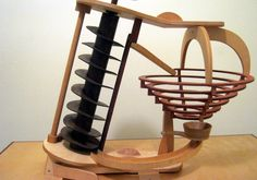 Marble Machines operated by hands