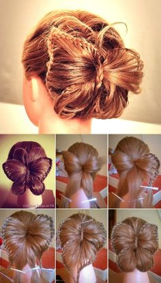 Butterly HairstyleTutorial