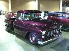 Purple Chevy P/U