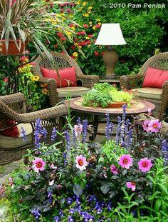 Jardín de ensueño.