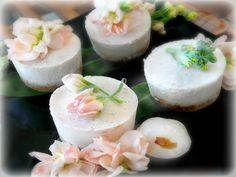 Snowblossom | Raw Fragrant lychee, vanilla, coconut cheesecake