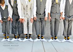 yellow and grey - 2013 Wedding Trends for the Groom - Southern Bride & Groom