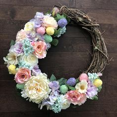 Easter Wreath Easter Wreaths for Front Door Easter Decor