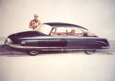 Tatra 603 sketch