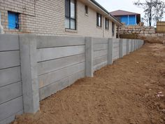 The civil contractor had to remove an old timber wall from the boundary of this property. Then replace it with a system that had a very small foot print. Australian Retaining… read more →