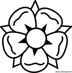 Resultado de imagen para imagenes de flores para pintar