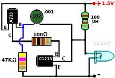 conectar un led con bateria de 1,5 voltios