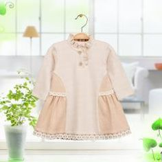 [ 22% OFF ] Newborn Baby Girls Oragnic Cotton 1Year Birthday Dress Infant Toddler Girl Lace Princess Christening Gown Dresses