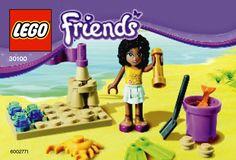 Lego Friends Beach