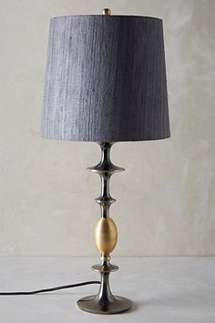 Chandelle Table Lamp Ensemble #anthropologie