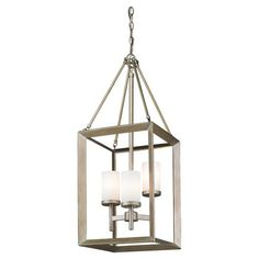 Cast a warm glow in your dining room or library with this classic pendant, featuring a beveled cube shape for stylish appeal.  Produ...