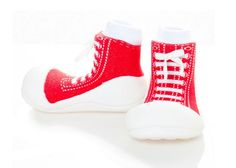 Attipas First Walker Shoes - Red Sneaker by Baby Strawberry