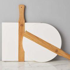 White Italian Pizza Boards | West Elm Bathroom Windows, Serveware, West Elm, Safe Food, Pottery Barn, Pine, Wax, Storage, Handle