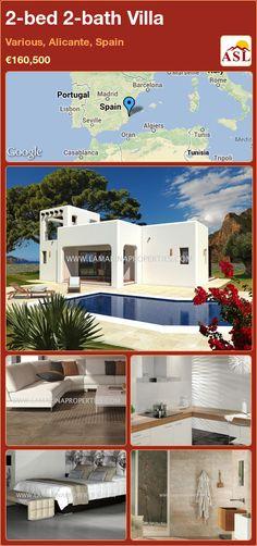 2-bed 2-bath Villa in Various, Alicante, Spain ►€160,500 #PropertyForSaleInSpain
