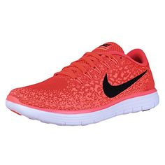 online retailer 620d6 f6c6e Womens Free RN Distance Running Shoe Bright Crimson Black-Hyper Orange-White)  -- You can get additional details at the image link. (This is an affiliate  ...