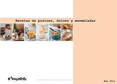 Postres y dulces exquisit 2013  Recetario de postres y dulces del blog L´Exquisit (2013)