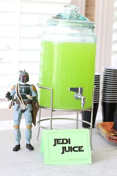 Four Flights of Fancy: Syd's Star Wars/Boba Fett Party