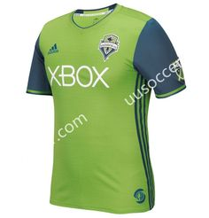 2016-17 Seattle Sounders FC Home Green Thailand Soccer Jersey AAA