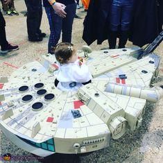 Millennium Falcon - Creative DIY Baby Costume Idea
