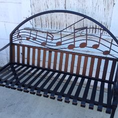 Music bench Delta Blues Clarksdale, Mississippi ♥♥♫♥♫♥♥J Sound Of Music, Kinds Of Music, Music Is Life, Music Furniture, Delta Blues, Music Decor, Music Images, Music Lessons, Piano Music